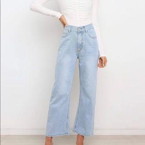Petal + Pup Light Wash Denim Jeans